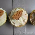Stroopwafel Cupcakes met Karamelglazuur