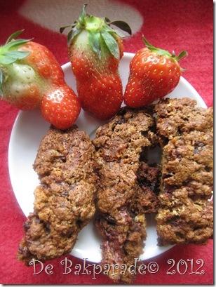 aarbei witte chocolade biscoti