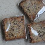 Lijnzaad-Kokos Crackers