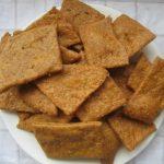 Zuurdesem Pesto Crackers