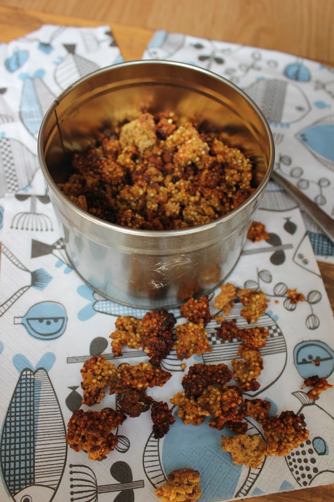 zelf quinoa poffen