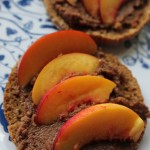 Pita met Banaan Chocolade Hummus