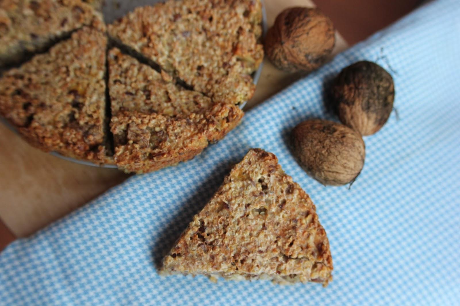 Quinoa Walnoot Banaan Brood