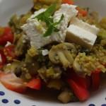 Foodblogswap: Quinoa met prei