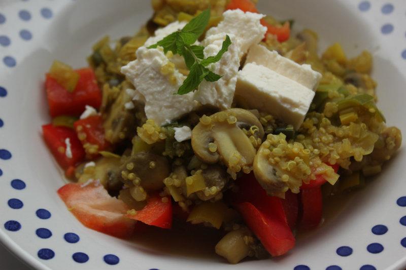 Quinoa met prei