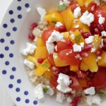 Granaatappel Tomaat Salade