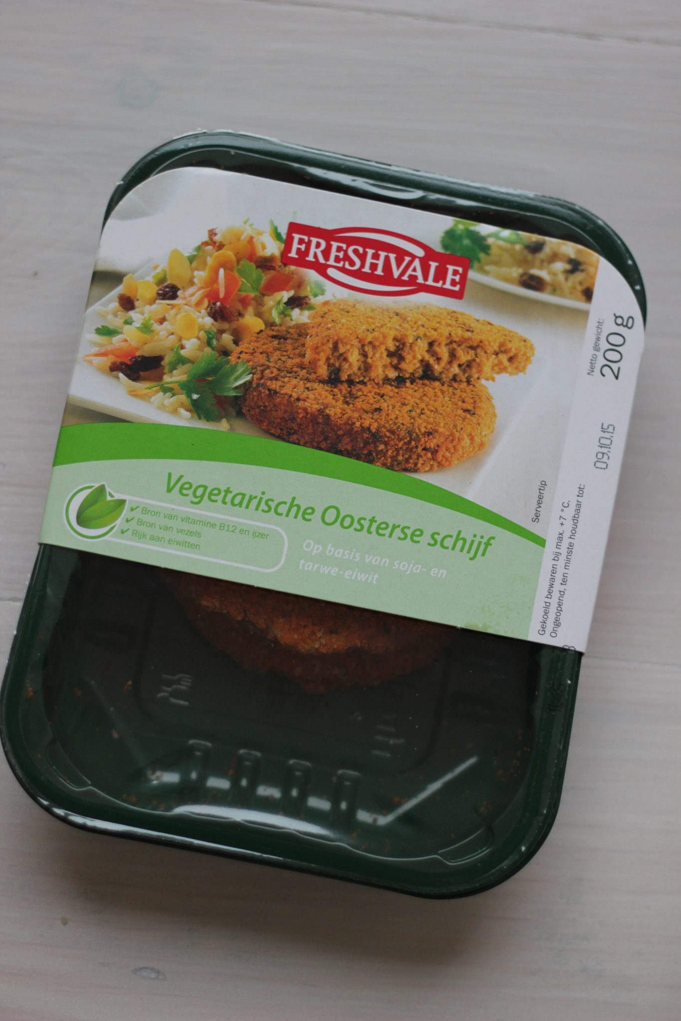 Gezondste en Lekkerste Vleesvervanger Deel 4: Lidl Freshvale vegetarische Oosterse Schijf