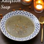Vegetarisch Kerstmenu II Voorgerecht: Geroosterde Knoflook Soep