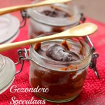 Vegetarisch kerstmenu I nagerecht: Gezondere Speculaas Chocolade Mousse
