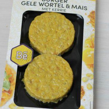 De Lekkerste en gezondste vleesvervanger: Be Wortel en Mais Burger