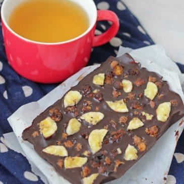 Chocolade met Crunchy Kikkererwten (en ja het is heel erg lekker!)
