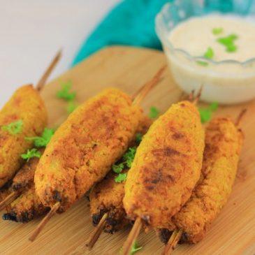 Vegetarische Groente Kebab