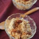 Gezonde rijstepap als ontbijt