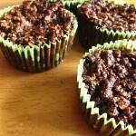 Hoe iets dat mislukt toch goed kan zijn… – Courgette-chocolade muffins