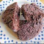 Vetvrije Volkoren Chocolade Kers Brownies