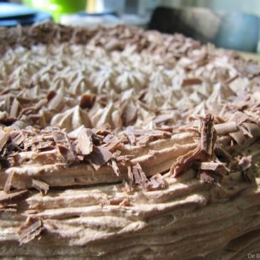Nutella Chocolade Taart