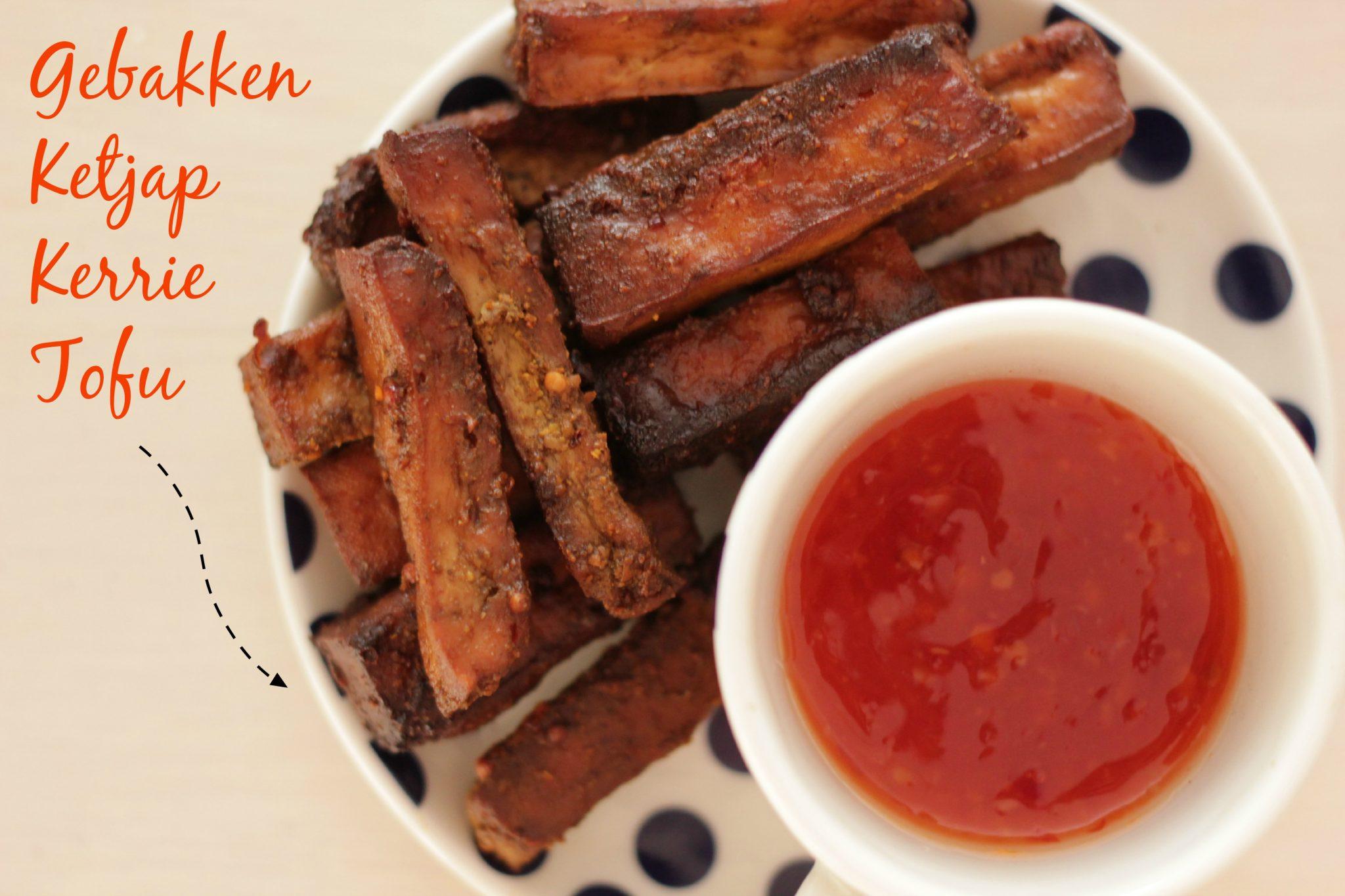 Lekkerste Ketjap Kerrie Gebakken Tofu