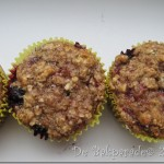 Havermout Appelmoes Bosbes Muffins