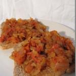 Indisch Tomaat-Uien Broodbeleg