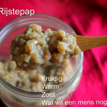 Chai Extract en Rijstepap