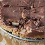 Choco-Banaan-Pindakaas Koek zonder Bakken
