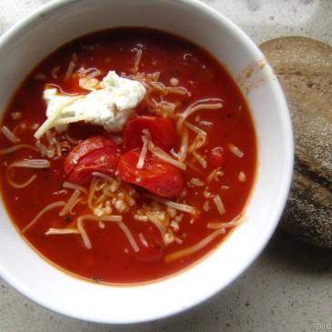 Foodblogswap April: Makkelijke Italiaanse Tomatensoep