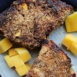 Banaan Mango Witte Chocolade Brood
