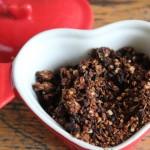 Glutenvrije Chocolade Quinoa Cruesli