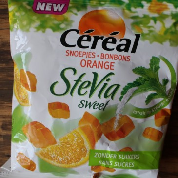 Cereal Stevia Sweets Orange