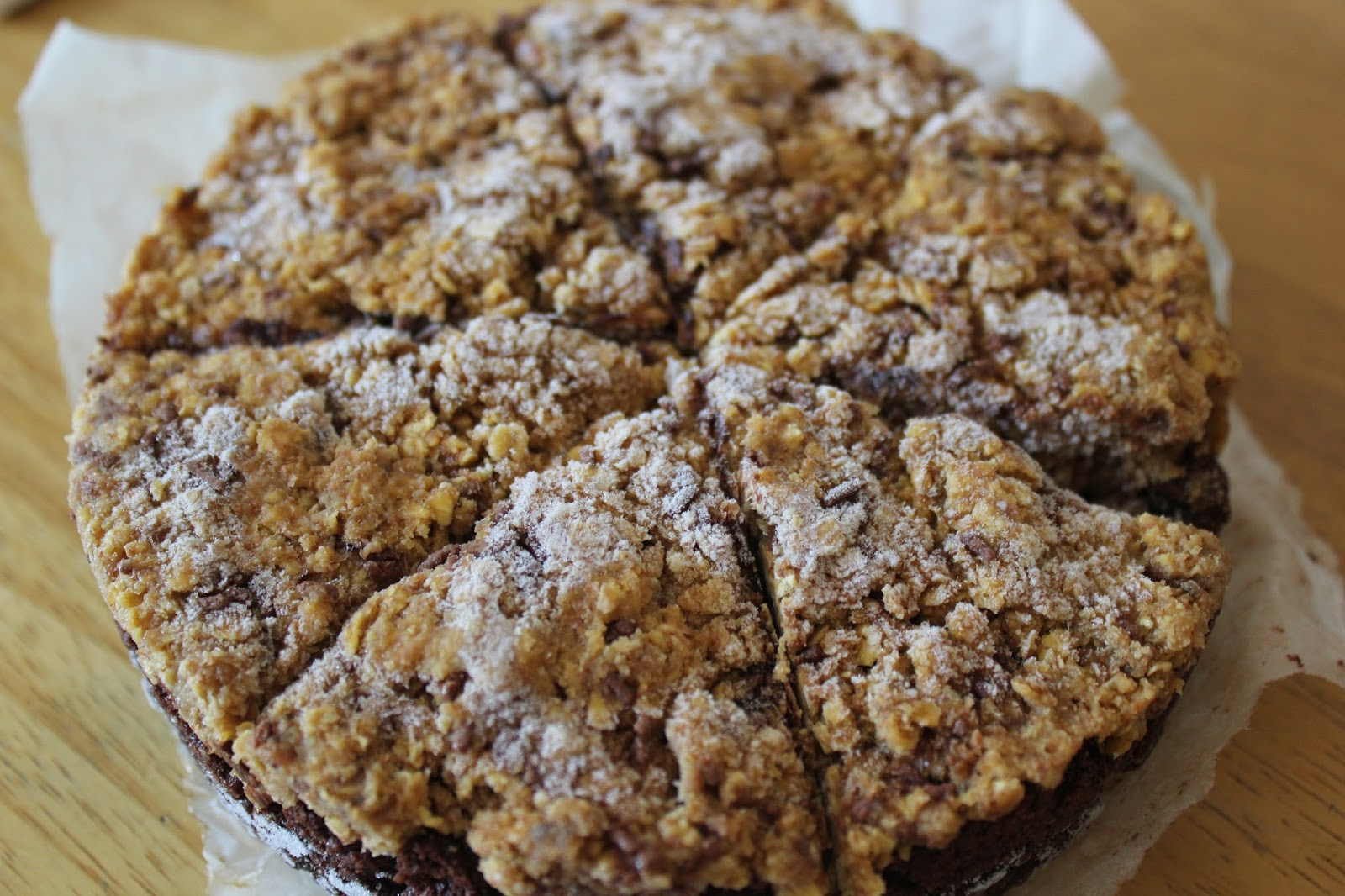 Gezonde Cookie Dough Glutenvrije Brownies