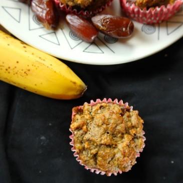 Suikervrije Banaan Zoete Aardappel Muffins