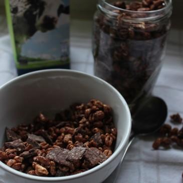 Gezondere Chocolade Ontbijtgranen