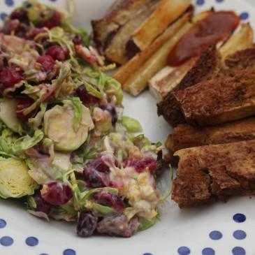 Spruitjes Salade met Cranberry