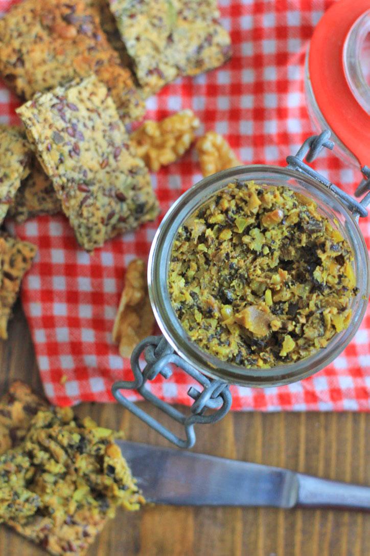 Vegetarische Champignon Paté
