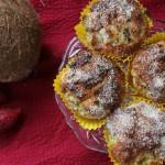 Zomerse Gezonde Kokos Kiwi cakejes