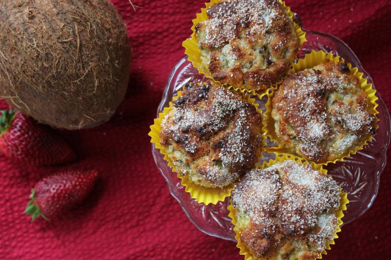 kokos kiwi  cakeje