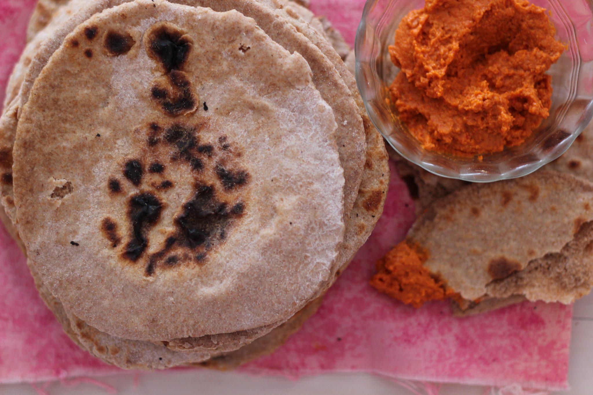 Volkoren Pita Broodjes Zelfgemaakt