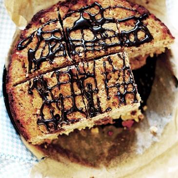 Glutenvrije Chocolade Banaan Cake