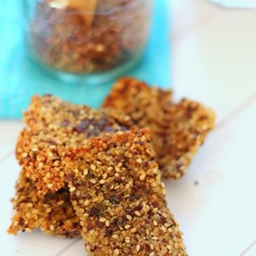 Quinoa Rijst Crackers