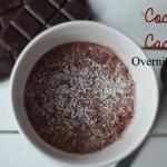 Choco Cocoa Overnight Oats