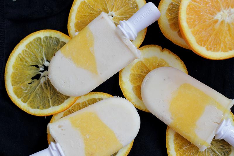 sinaasappelbanaanijs