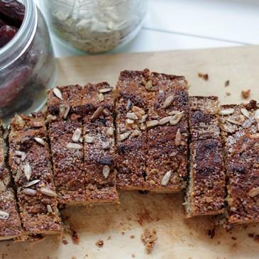 Glutenvrij Dadel Zonnebloempit Brood