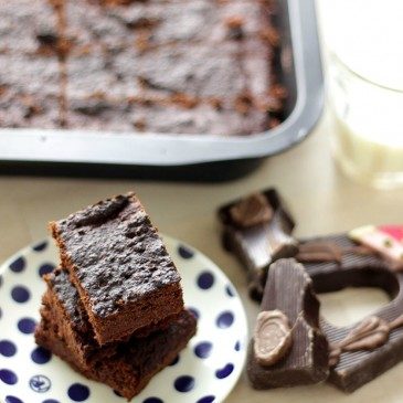 Rode Biet Brownies