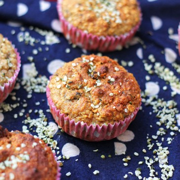 Hennepzaad Appel Muffins