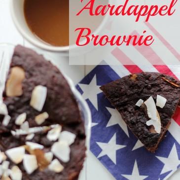 Zoete Aardappel Brownies