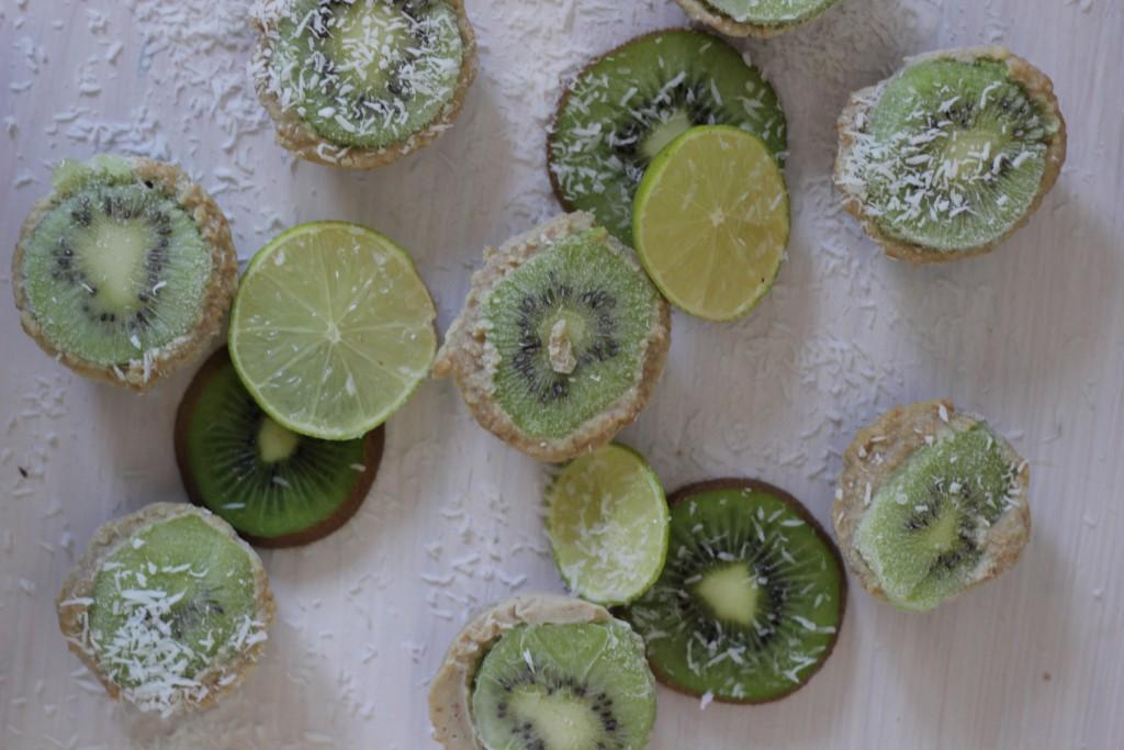 rauwe kiwi cheesecake