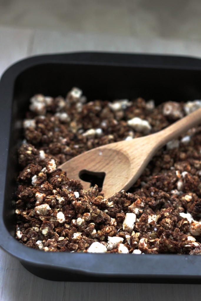 peanutbutter granola