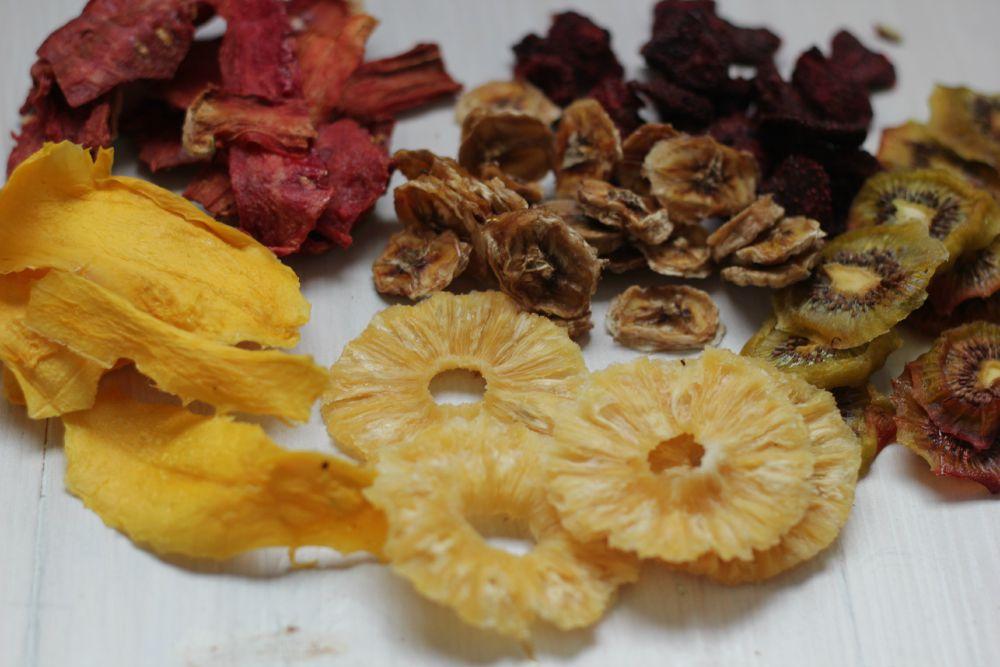 dehydrator gedroogd fruit