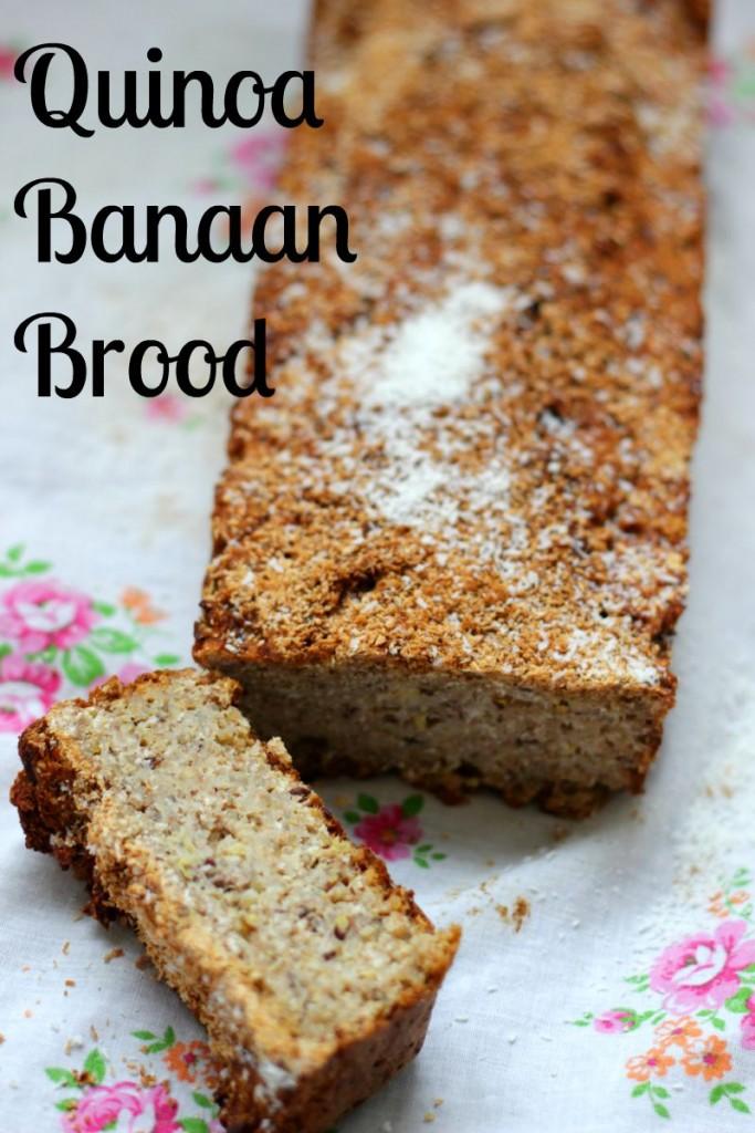quinoa banaan brood