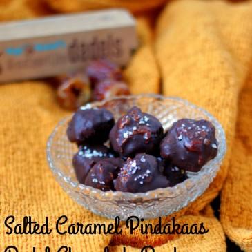 Salted Caramel Pindakaas Dadel Chocolade Bonbons